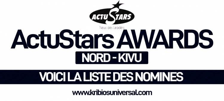 ACTU STARS AWARDS 2018: LA LISTE DES NOMINÉS