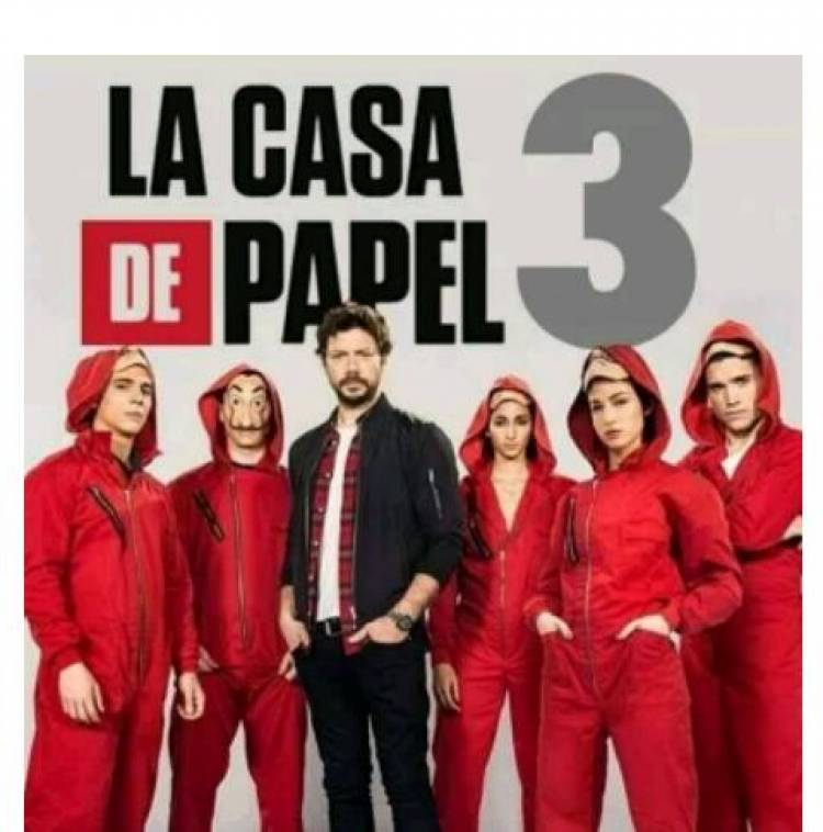La Casa de Papel : la 3ème partie pour  juillet 2019 !