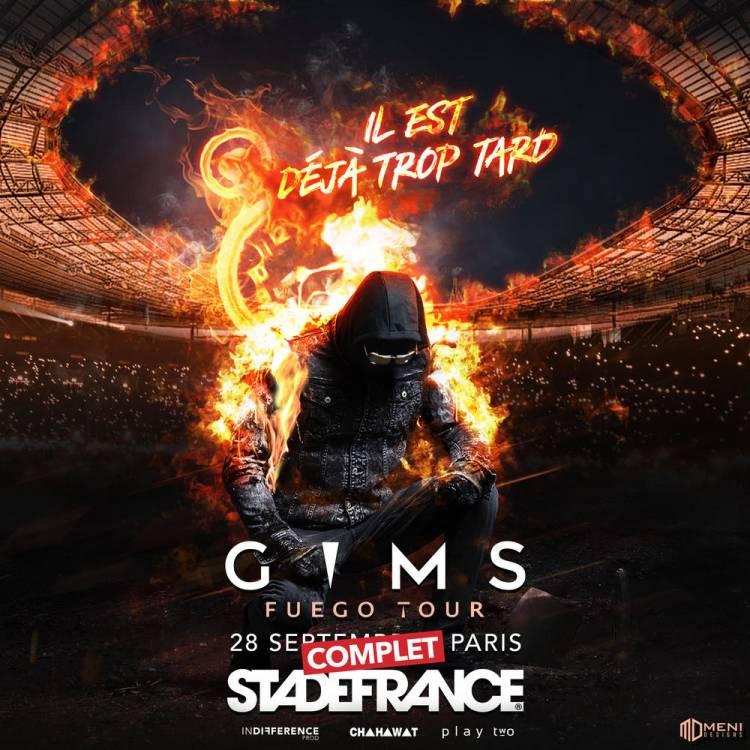 Coup d'œil sur le concert au stade de France et du congé de Maître Gim's