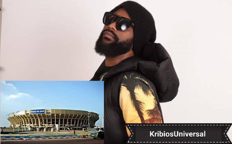 L'Infatigable Fally Ipupa affronte Stade des Martyrs de Kinshasa