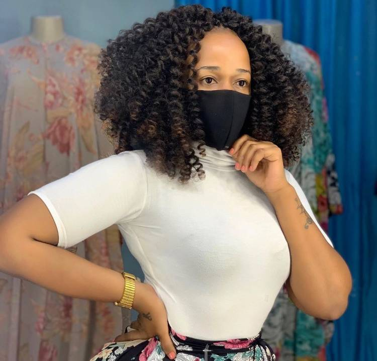 La chanteuse Tanzanienne Linah Sanga en mode confinement