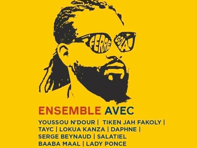Ferré Gola, l'unique chanteur Congolais retenu pour participer au festival ''Africa Together''