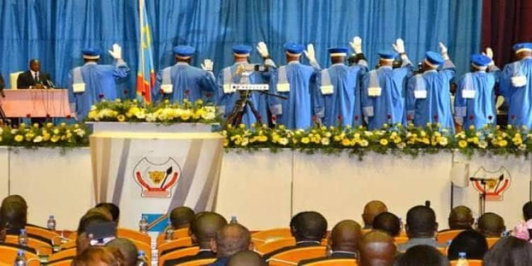 Justice: Félix Tshisekedi a nommé trois nouveaux membres à la cour constitutionnelle de la RDC
