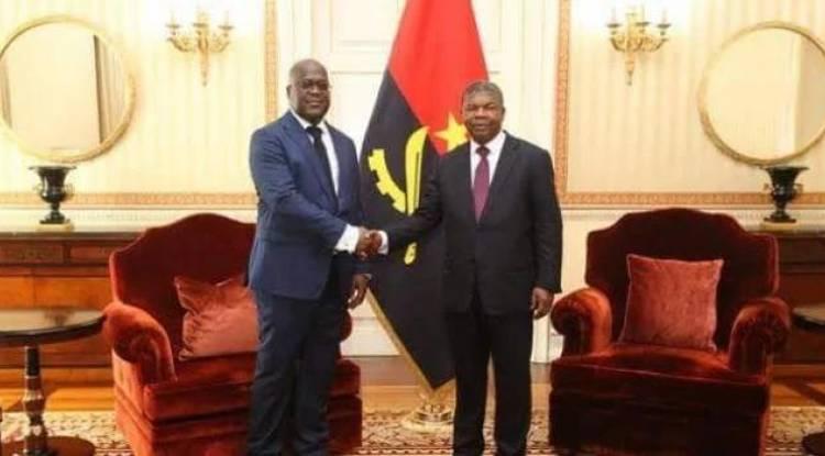 Crise politique en RDC : Félix Tshisekedi sollicite l'appui diplomatique et politique de João Lourenço