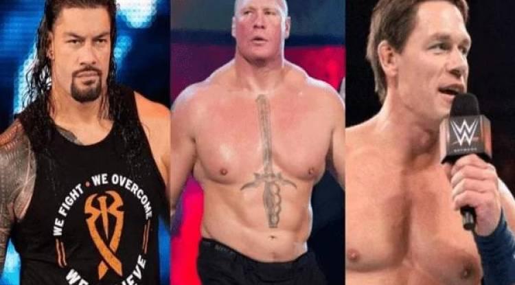 Voici les catcheurs les mieux payés de la WWE