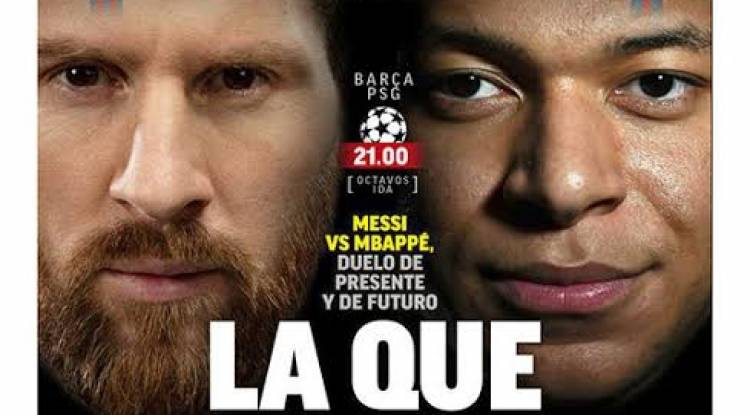 Messi vs Mbappé : le duel le plus luxe de la soirée de la Ligue des champions !