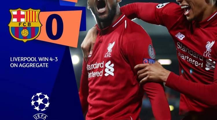 Champions League : Incroyable mais vrai, Liverpool en finale !
