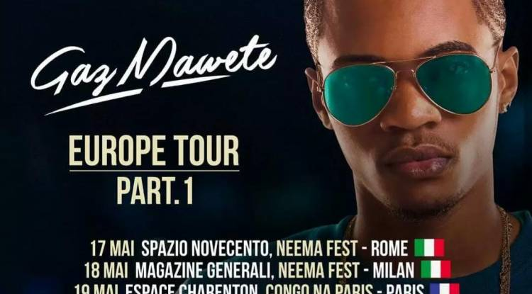 Gaz Mawete Europe Tour Part 1: 2 Pays, 4 dates !
