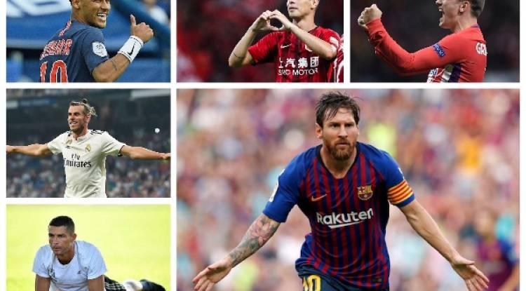 10 joueurs les mieux payés au monde