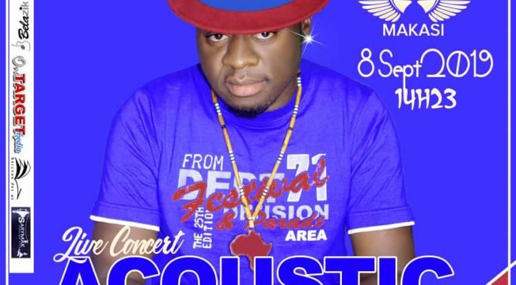 """""""Ma Plume d'abord"""" un concert acoustique signé Aiglon Makasi !"""