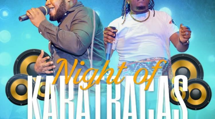 La nuit spectaculaire Karatracas à Goma avec Lionel Ekongo et Léon MpakaLove