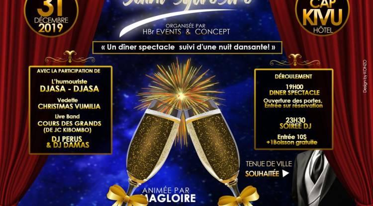 La fête de la Saint-Sylvestre au Cap Kivu Hôtel, une soirée à ne pas louper !