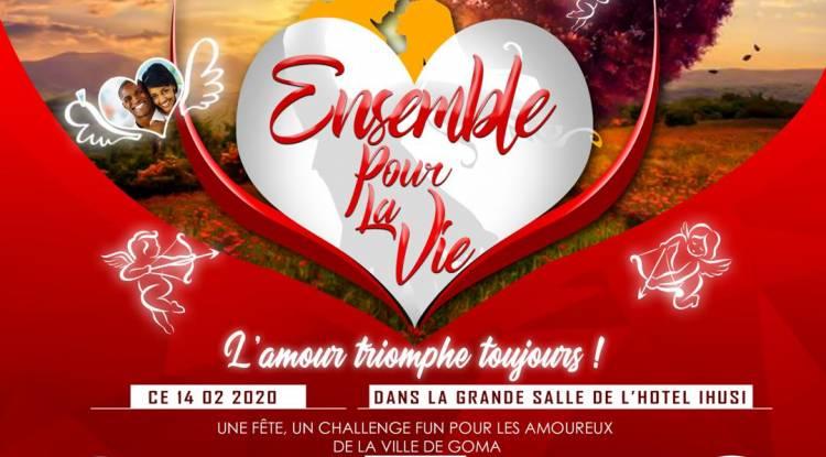 Ensemble pour la vie: l'amour? Ça se fête à Goma !