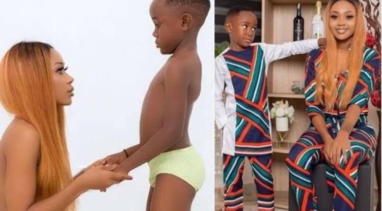 L'actrice ghanéenne Akuapem Poloo aux arrêts pour avoir posté une photo nue avec son fils de 7 ans