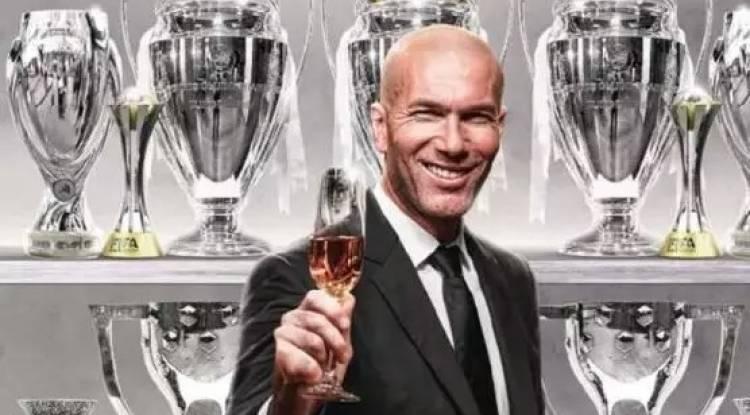 Après le sacre du Réal Madrid, voici ce que Pérez demande à Zidane