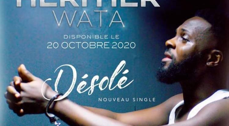 """""""Désolé"""" ou la bonne manière de s'excuser du chanteur Héritier Wata après son fameux sextape ?!"""