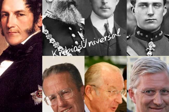 Coup d'œil sur la succession des Rois des Belges