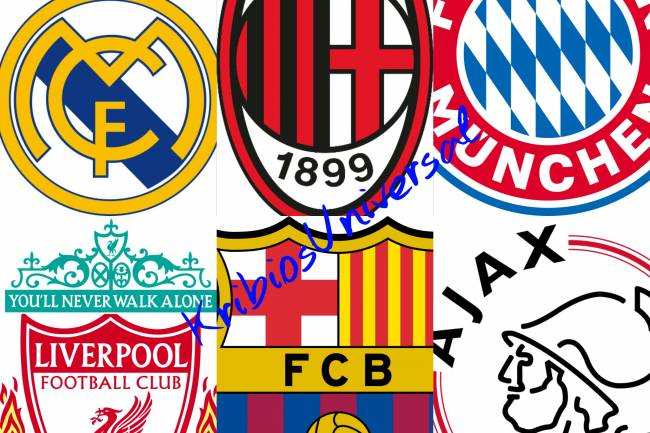 Top 5 de clubs les plus titrés en Ligue des champions UEFA