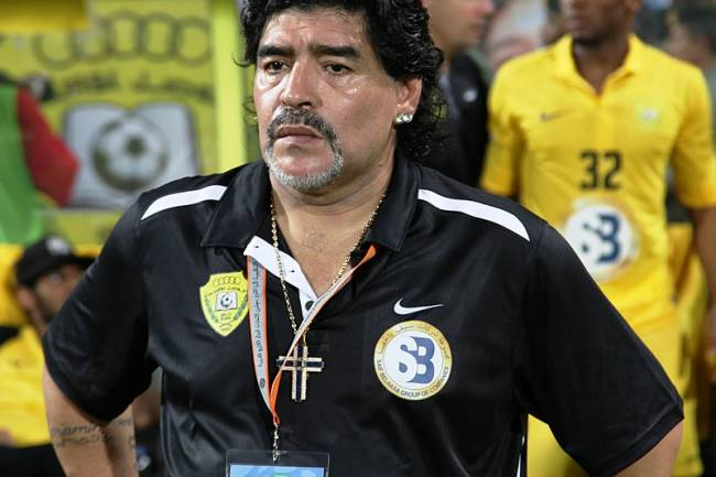 Né en 1960, Maradona fête ses 60 ans d'âge !