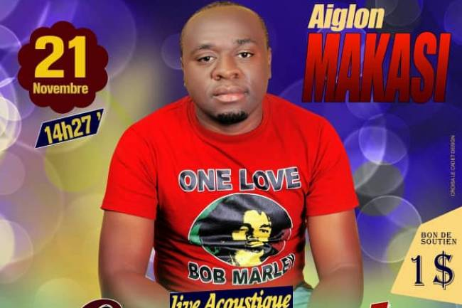 Aiglon Makasi en concert mirifique chez Belazik à Goma