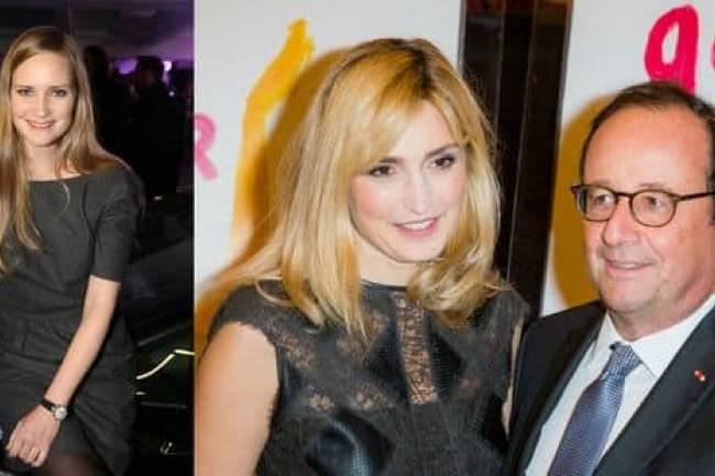 La réaction de Julie Gayet sur une liaison extraconjugale de François Hollande