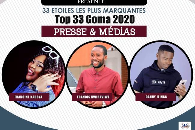 33 plus marquants en 2020 : Presse & Médias