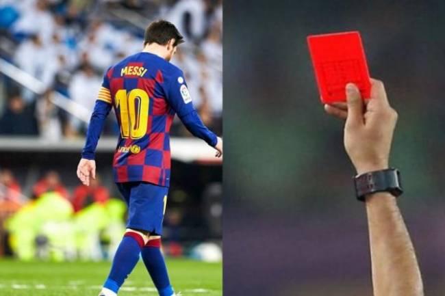 Après son expulsion, voici ce que risque Messi