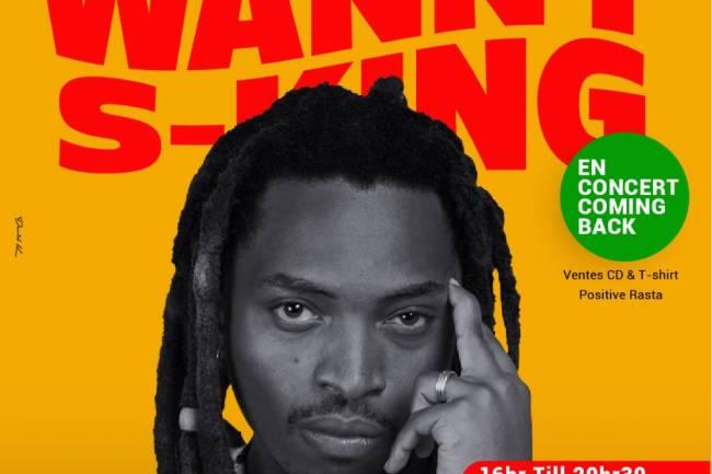 Wanny S'King signe son come-back à Goma avec un concert chez Pilipili !