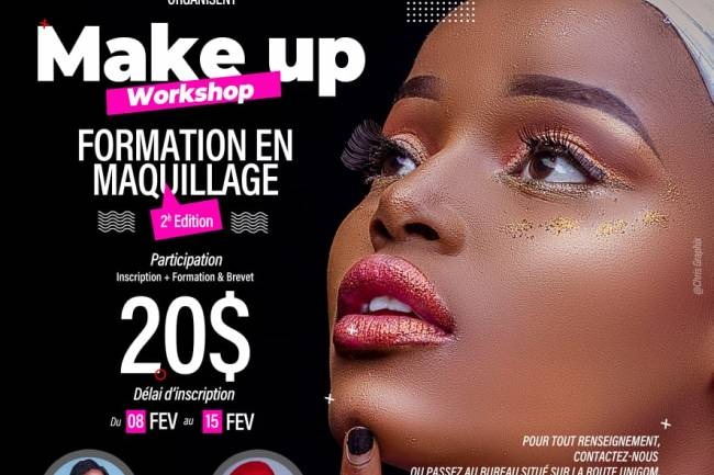 Make Up Workshop: Miradie Group ouvre ses portes pour une nouvelle formation en maquillage à Goma