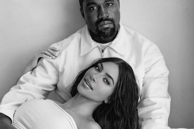 Sur la vie conjugale des amoureux célèbres Kanye West et Kim Kardashian