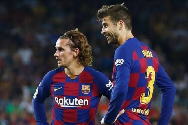 Coup de gueules entre Piqué et Griezmann crée la polémique...