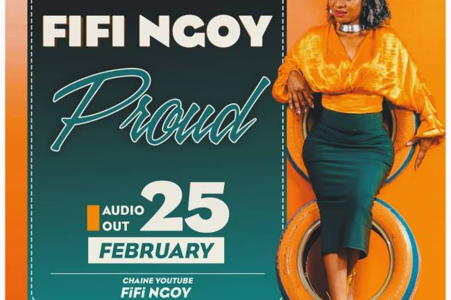 "LA CHANTRE RELIGIEUSE FIFI NGOY PUBLIE UN HIT ""PROUD"""