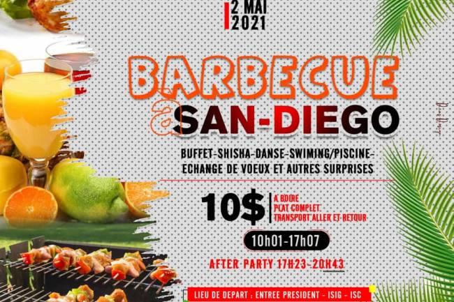 Super Barbecue dans une vie en famille chez San Diego à Goma !