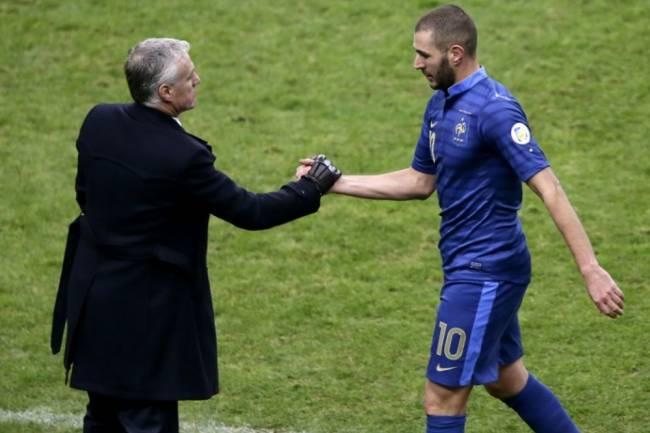 Benzema de retour, voici la liste de la France pour l'Euro