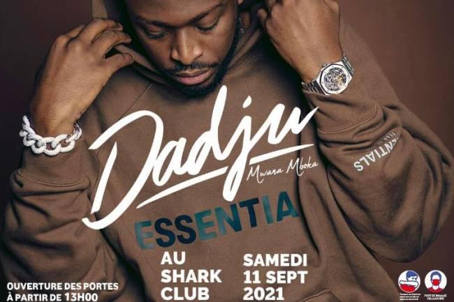 Accompagné d'une panoplie d'artistes, Dadju livre un mega concert au Shark Club de Kinshasa