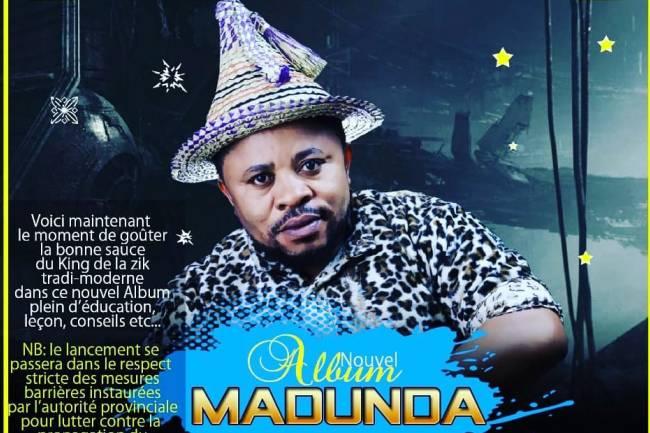 "L'artiste légendaire du Kivu, Fabrice Mumpfiritsa lance ""Madunda"" son nouvel album"