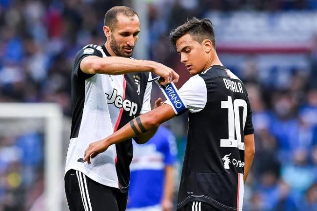 Chiellini optimiste : «Cristiano a déjà un héritier, ce sera l'équipe de Dybala ! »