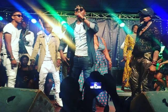KoffiCentral au chevet des jeunes talents de la musique congolaise aux côtés de Koffi Olomidé