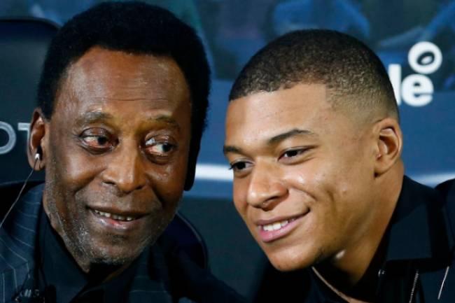 Pelé conseille Mbappé de rester au PSG