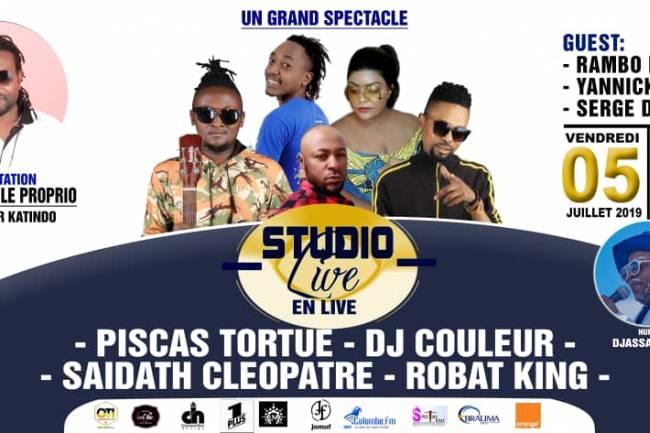 Suite et fin de la 5ième édition du Studio Live en live, l'événement sans précédent à Goma.