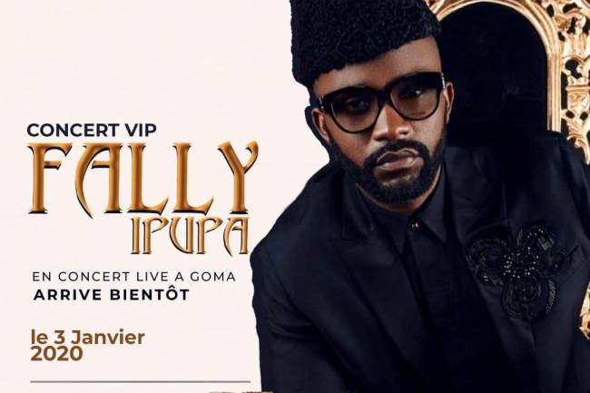 Fally Ipupa fait un come-back à Goma en double concert