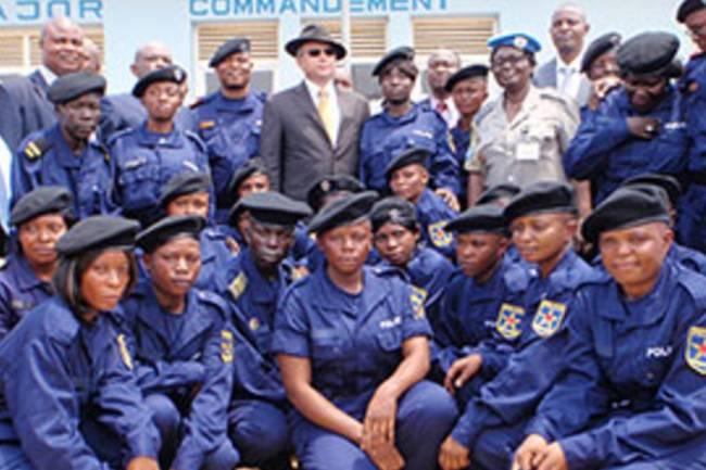 Le salaire d'un Policier Congolais sur le point d'être doublé ou quadruplé