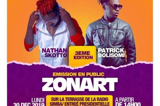 L'émission publique ZonArt 3ème édition, Calvin Mulungu met sa main à couper !