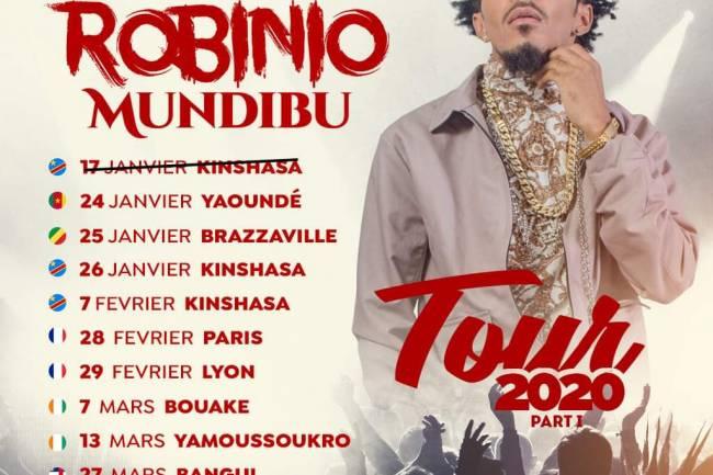 Robinio Mundibu fait un tour purement francophone !