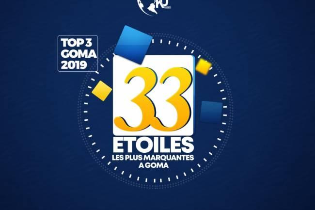 Top3 Goma 2019 ou 33 Étoiles les plus marquantes de l'année 2019