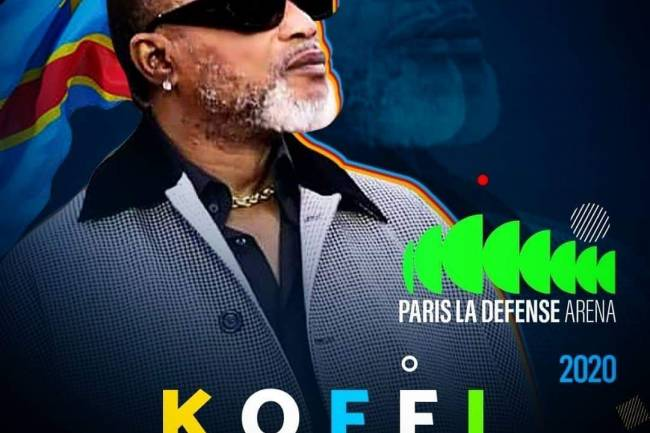 """Ahurissant, Koffi Olomidé annonce """"Paris La Défense Arena"""", la plus grande salle Europeene"""