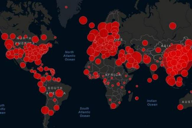 Coronavirus : Voici les pays les plus touchés dans le monde
