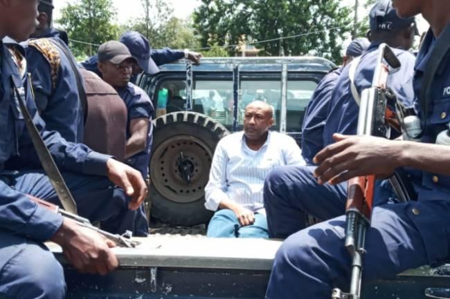 Modé Makabuza, le DG de la société de construction *SOCOC* arrêté ce matin à Goma