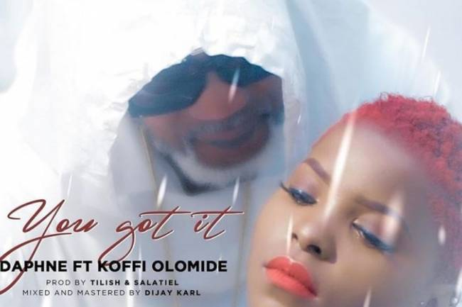 "Daphné sort ""You Got it"" en featuring avec Koffi Olomidé"
