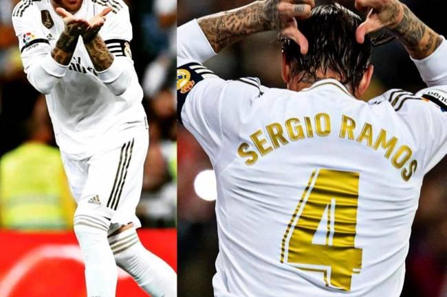 Les inséparables Sergio Ramos et le Real Madrid